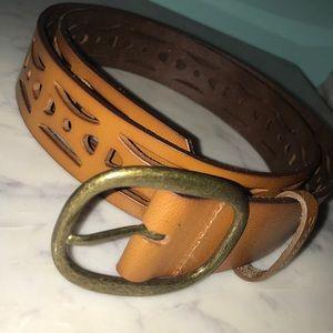 Billabong brown leather belt